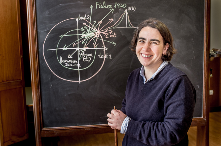 Isabel Gordo, evolutionary biologist.