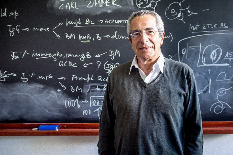 António Coutinho, immunologist.